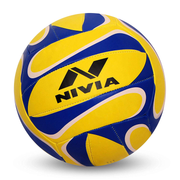 VolleyBall Combo - Nivia VolleyBall+Double Action Ball Pump+Nivia Oslar Sipper+2 LP 941 Knee Support