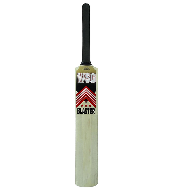 World Cup Special Blockbuster Combo! 2 WSG Blaster Popular Willow Cricket Bats + 3 Tennis Balls