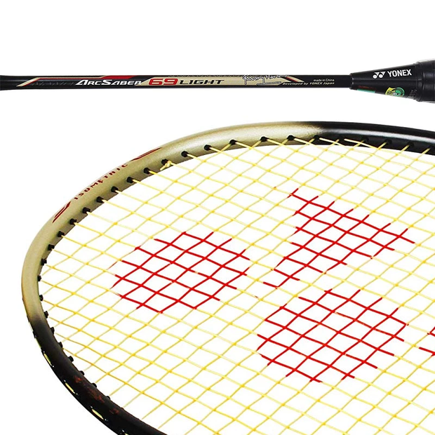 Yonex Arcsaber LIGHT 69 Black Strung Badminton Racket