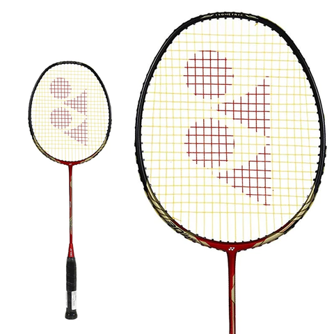 Yonex Nanoray LIGHT 68 Red Strung Badminton Racquet