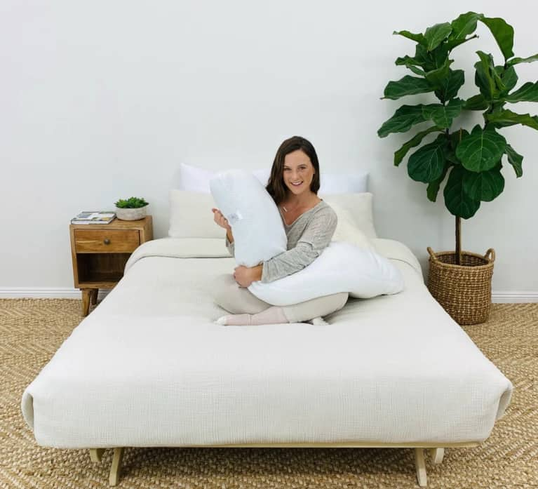 Ladies Body Pillow This body pregnancy  pillow is designed by women for women and offers the best sleep possible.