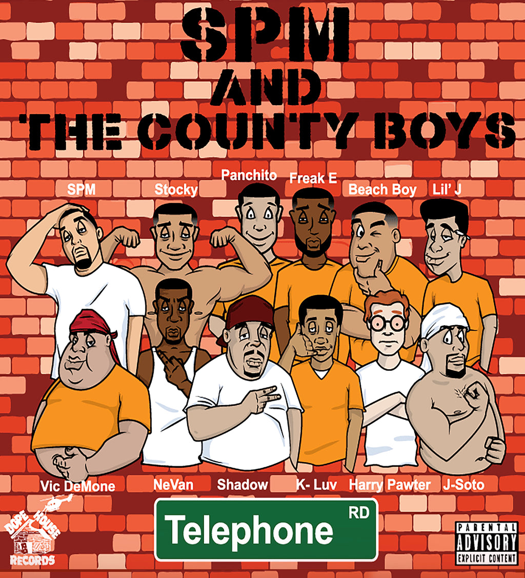 SPM AND THE COUNTY BOYS Album