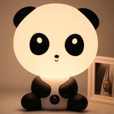 Veilleuse Panda Kawaii à LED - PyjamaPanda