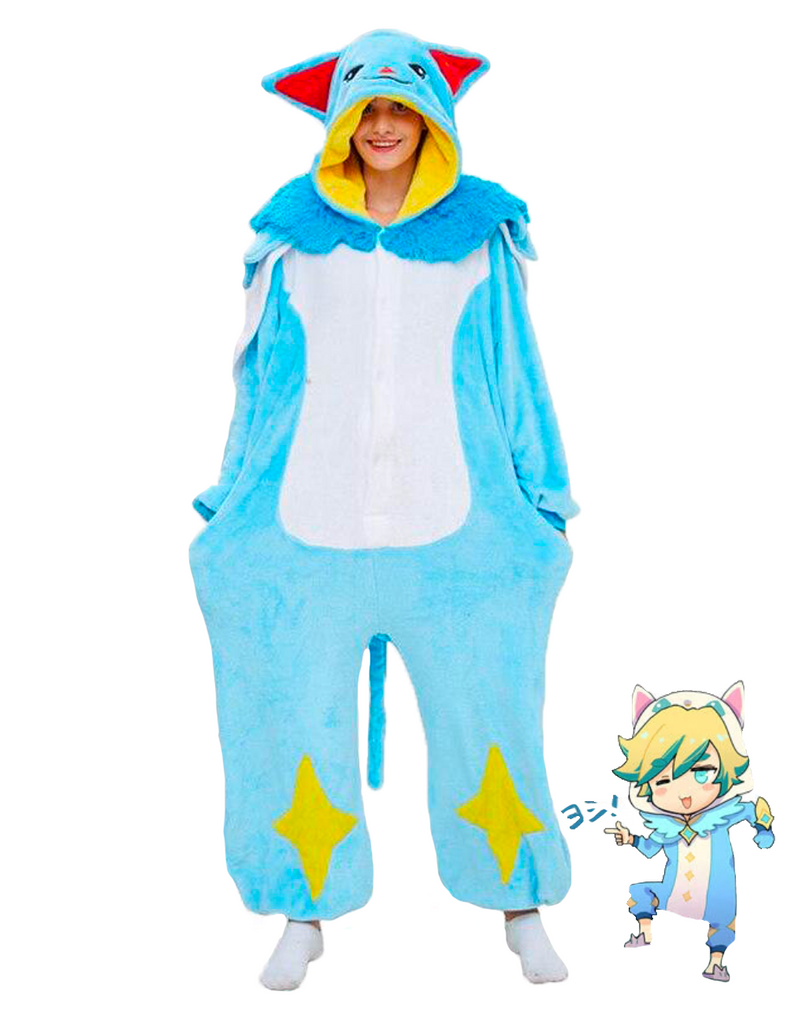 combinaison pyjama ezreal league of legends arcanique gantelet shimurien explorateur