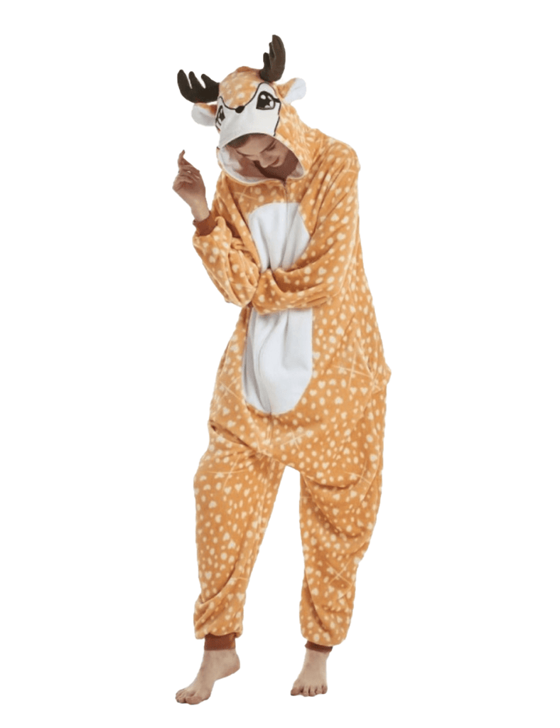costume cerf homme