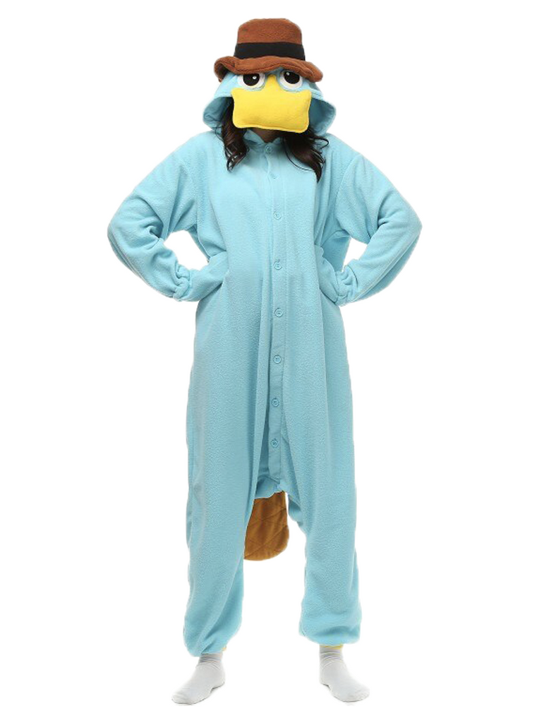 costume perry l'ornithorynque disney pour homme