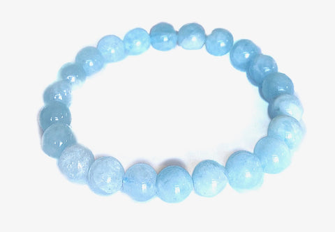 Aquamarine Bracelet 8mm
