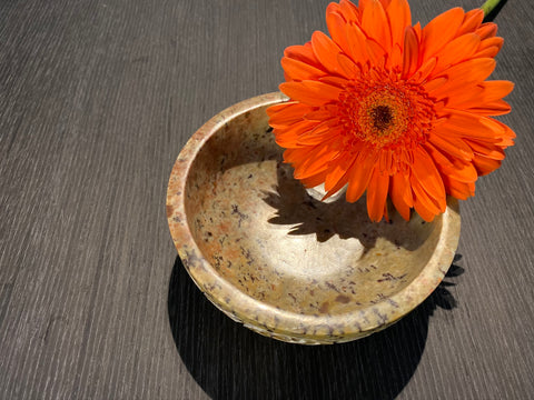 Soap Stone Smudge Bowl
