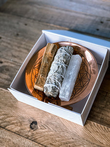 Smudge giftset (copper)