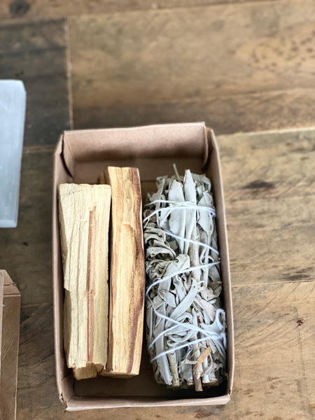 White Sage Palo Bundle