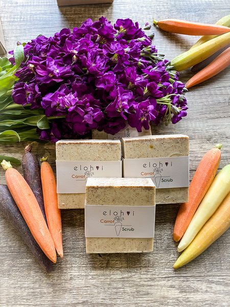 Carrot Scrub Soap