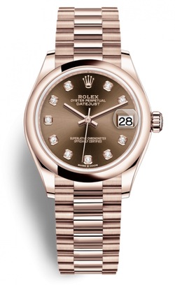 Datejust Everose Gold Lady's Watch