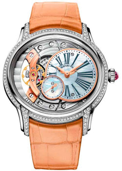 Millenary Hand-Wound White Gold Ladies Watch