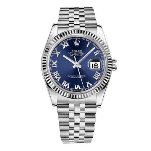 Datejust 36 Stainless Steel Fluted Bezel Watch
