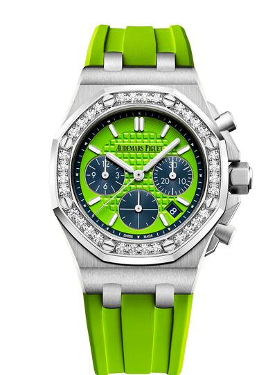 Royal Oak Offshore Chronograph Stainless Steel Ladies Watch