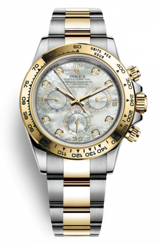 Oyster Perpetual Cosmograph Daytona Stainless Steel & Yellow Gold Watch
