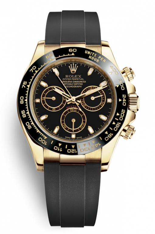 Oyster Perpetual Cosmograph Daytona 18K Yellow Gold Men's Watch