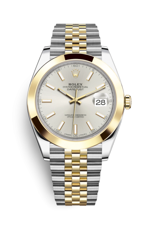 Oyster Perpetual Datejust 41 Stainless Steel & Yellow Gold Men's Watch