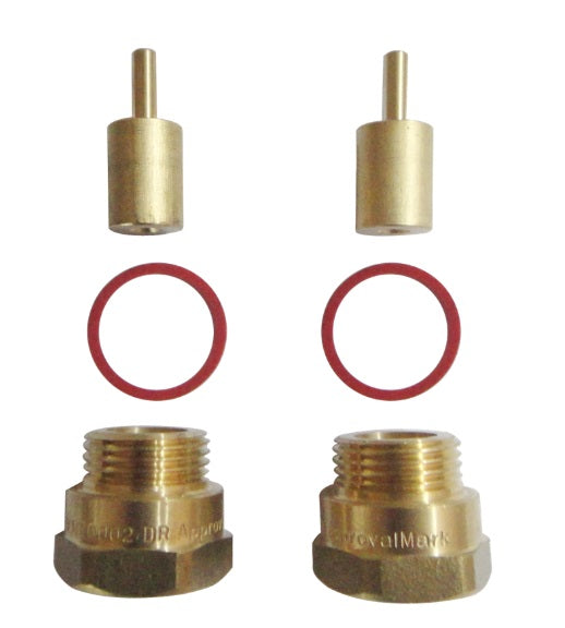 Kinetic 15mm Wall Tap Spindle Extender - 2 Pack (SKU: 60874) (SKU: 60874) Image - 1