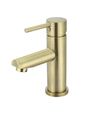 Round Basin Mixer - Tiger Bronze Gold