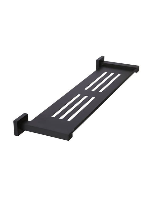 Meir Square Bathroom Shelf - Matte Black (SKU: MR06) Image - 1