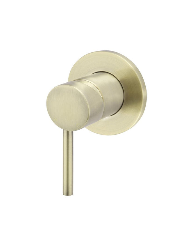 Meir Round Wall Mixer Gold - Tiger Bronze Gold (SKU: MW03-BB) Image - 1