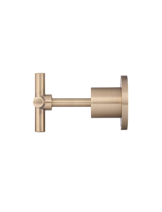 Meir Round Long Spindle Jumper Valve Wall top Assembly - Champagne (SKU: MW08JL-CH) Image - 2