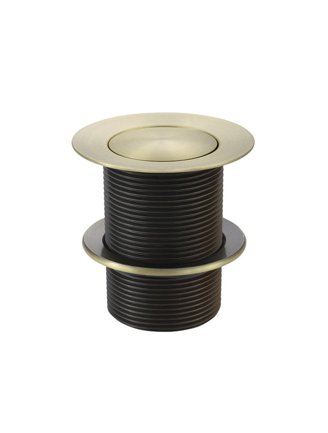 40mm Pop Up Waste - No Overflow / Unslotted - Tiger Bronze Gold