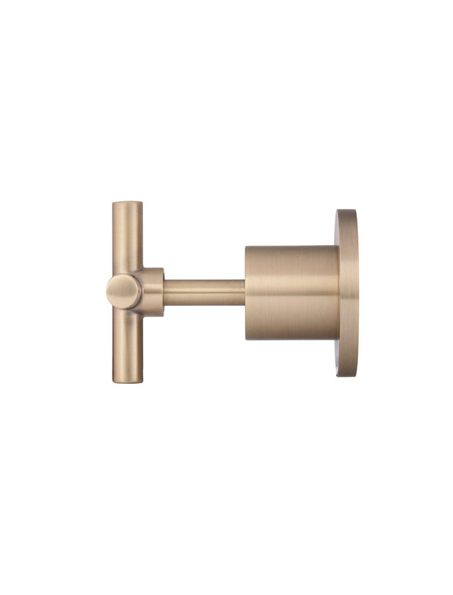 Meir Round Jumper Valve Wall Top Assemblies - Champagne (SKU: MW08-CH) Image - 6