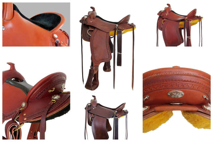imus 4-beat custom gaited horse saddles