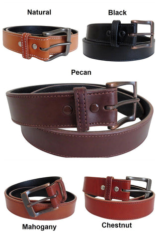 western leather belt colors