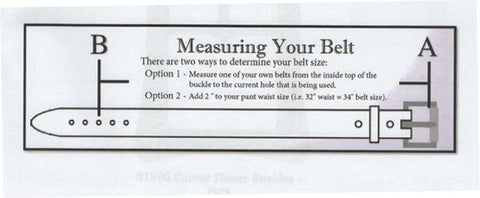 how to measure your belt