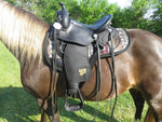Imus 4-Beat Comfort Grip Contoured Saddle Pads-Phoenix Rising Saddles Gaited Horse Tack
