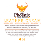 Phoenix Rising Saddles Leather Cream Conditioner-Phoenix Rising Saddles Gaited Horse Tack