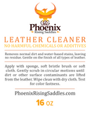 Phoenix Rising Saddles Leather Cleaner-Phoenix Rising Saddles Gaited Horse Tack