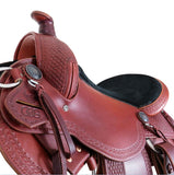 Legacy Saddle by Phoenix Rising Saddles-Phoenix Rising Saddles Gaited Horse Tack