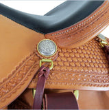 "16"" Legacy Saddle Wide Tree In Stock-Phoenix Rising Saddles Gaited Horse Tack"