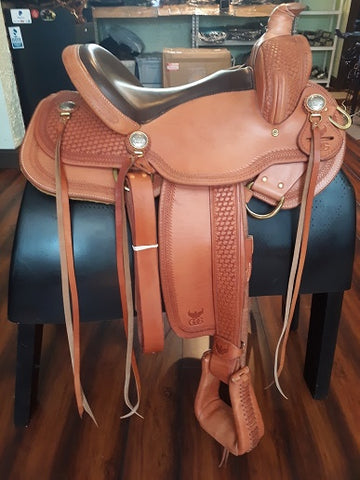 "15"" Legacy Saddle Standard Tree In Stock-Phoenix Rising Saddles Gaited Horse Tack"