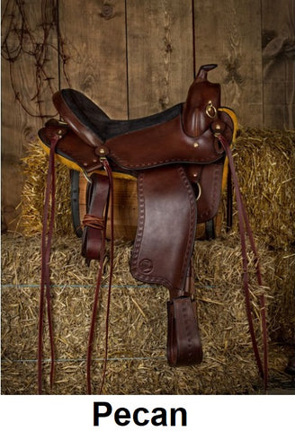 Custom Imus 4-Beat Gaited Saddle-Phoenix Rising Saddles Gaited Horse Tack