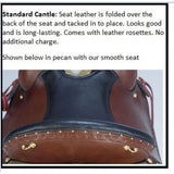 "17"" Imus 4-Beat Gaited Saddle Wide Tree In Stock-Phoenix Rising Saddles Gaited Horse Tack"