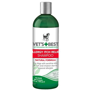 Vet's Best Allergy Itch Relief Dog Shampoo 16oz