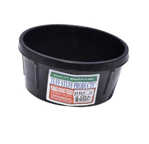 Tuff Stuff 2 Qt Rubber Round Feeder