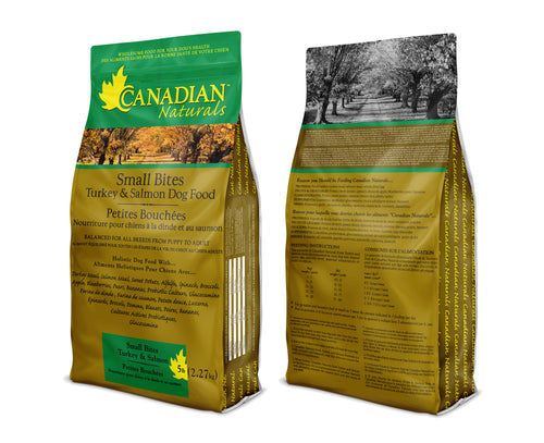 Canadian Naturals Turkey & Salmon Small Bites