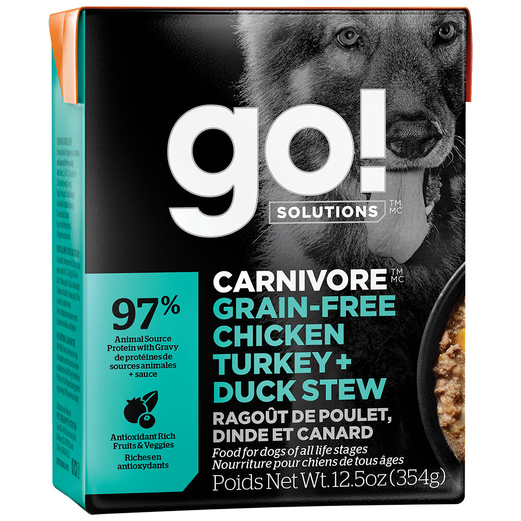 GO! Carnivore Chicken, Turkey & Duck 12.5 oz