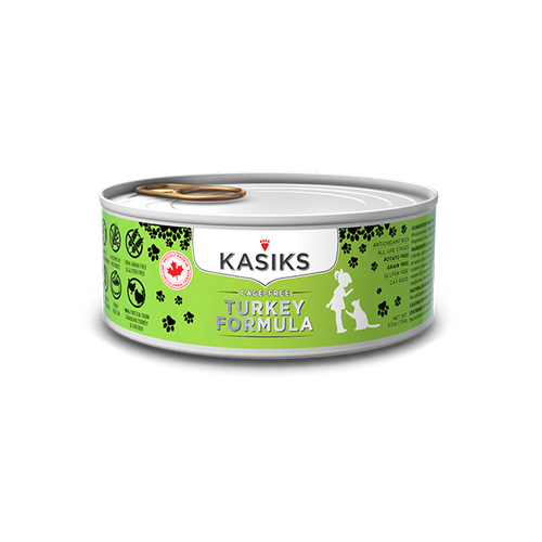 Kasiks Cat GF Cage Free Turkey