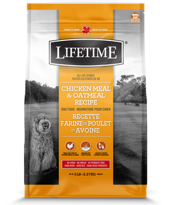 Lifetime Chicken & Oatmeal 25 LB