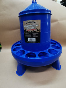 Double-Tuf 26 lb Poultry Feeder with Legs