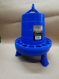 Double-Tuf 8.5 lb Poultry Feeder with Legs