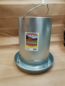 Little Giant 30lb Galvanized Hanging Feeder