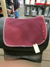Load image into Gallery viewer, Burgundy Saddle Pad